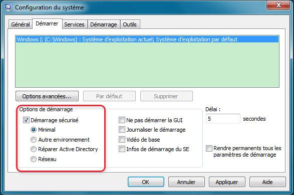 Configuration du système (windows 8) , Renee PassNow