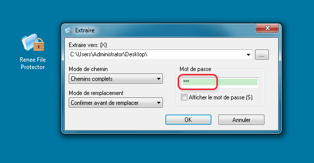 Crypter un dossier sous Windows - Renee File Protector