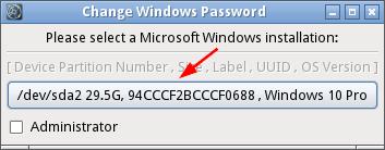 Réinitialiser le mot de passe Windows avec Chntpw-3