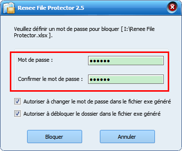 protect usb - renee file protector 5