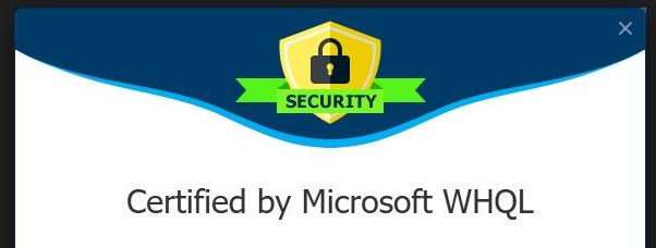 Renee USB Block requis la certification de Microsoft WHQL