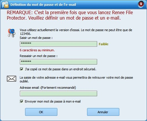 Renee File Protector-Logiciel de cryptage de données