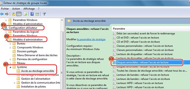 Désactiver le port USB par commande Exécuter - Renee USB Block