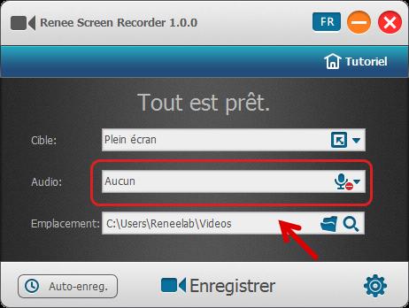 Logiciel d'enregistreur d'écran - Renee Screen Recorder