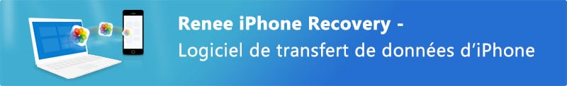 importer photos iphone vers pc windows 8 - Renee iPhone Recovery