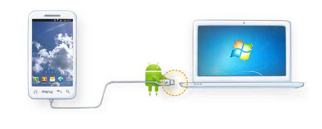 Connecter le mobile Android au PC