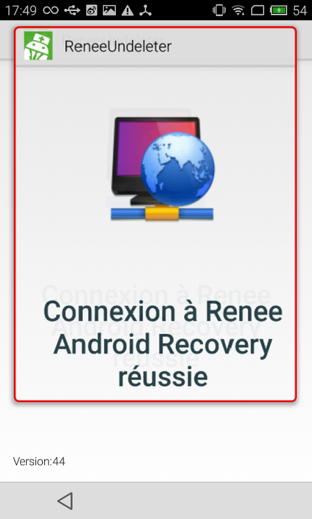 Récupérer les photos sur le mobile Android - Renee Android Recovery