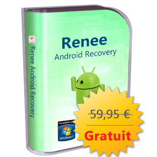 Promotion pour le Noel de 2017 - Renee Android Recovery