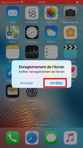 Enregistrer l'écran d'iPhone -