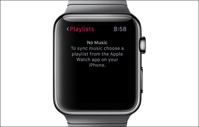 supprimer la musique sur apple watch