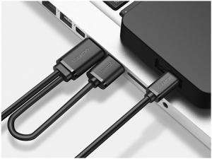 câble USB avec double alimentation