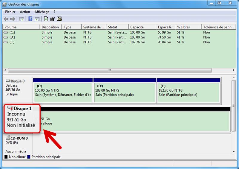 Tuto pour r parer le ssd ou disque dur non reconnu sous - Reparer table de partition disque dur ...