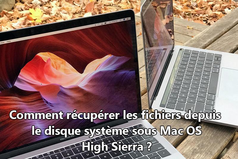 récupérer les fichiers depuis le système Mac