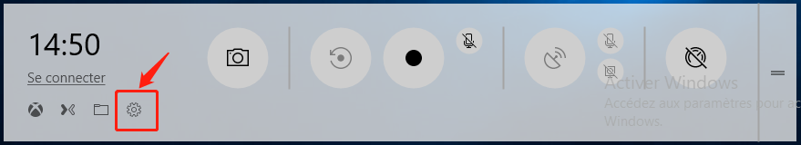 paramètre Windows