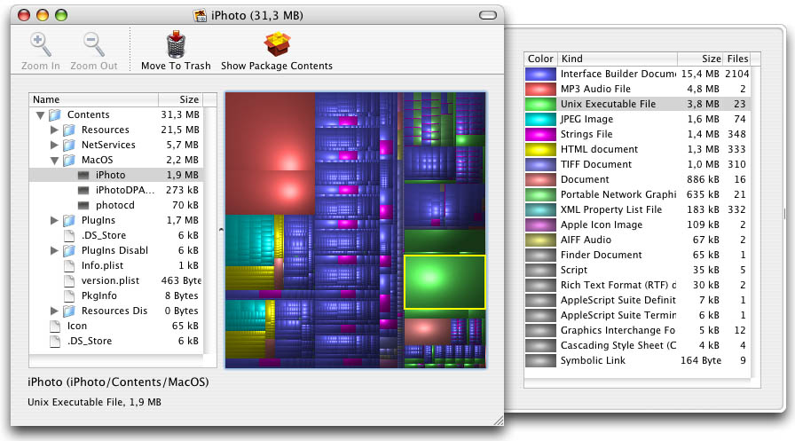 Disk Inventory X