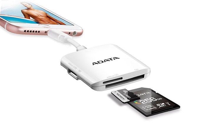la carte SD pour téléphone Apple iOS