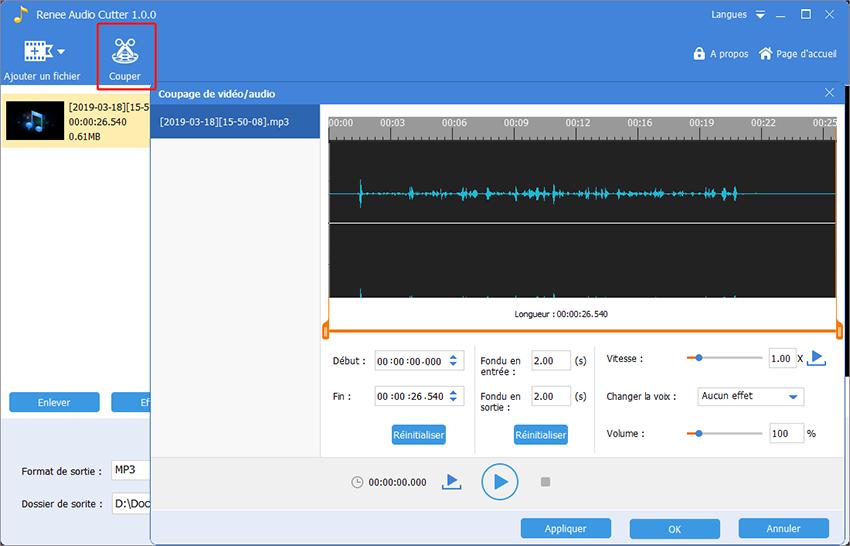 couper et transférer de musique vers iTunes