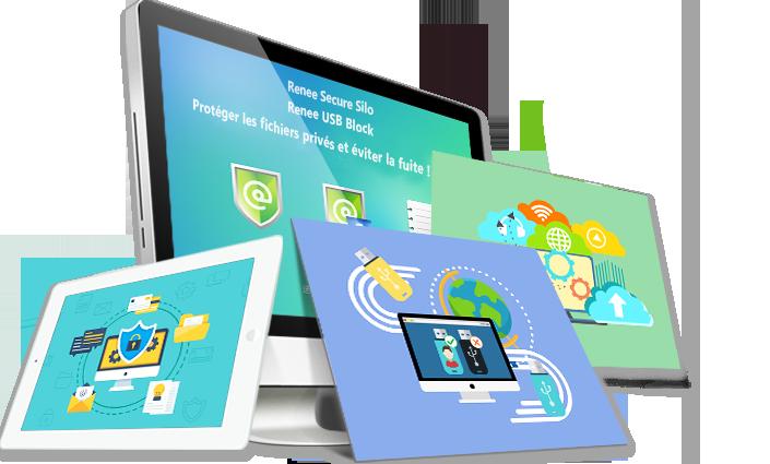 Protéger les fichiers avec Renee USB Block et Renee Secure Silo
