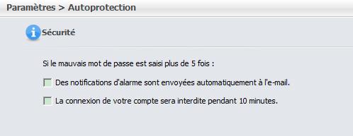 paramètres de protection de Renee File Protector