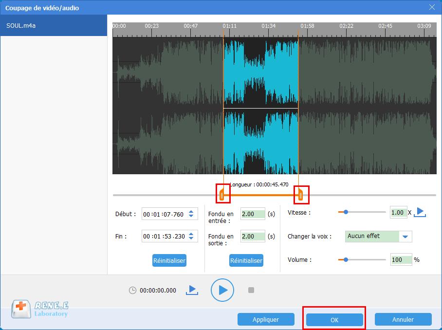 couper un fichier audio