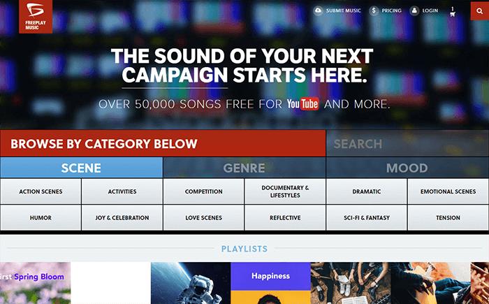 site de freeplay music pour le téléchargement de la musique