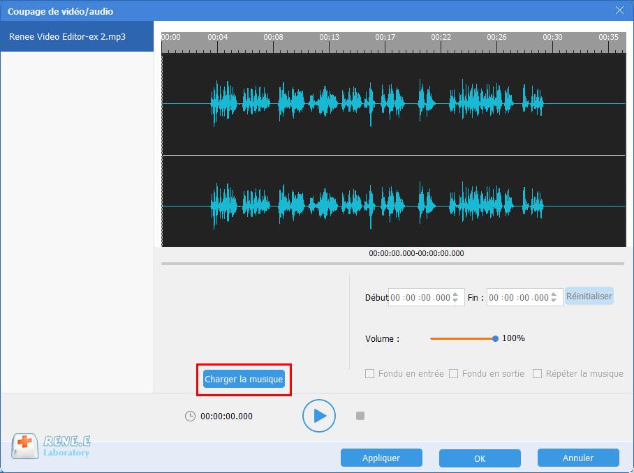 mixer la musique avec le fichier MP3