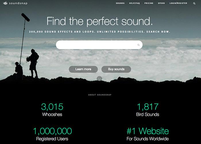 site de soundsnap pour le téléchargement de la musique